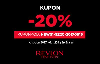 Revlonshop.hu - 20 % kedvezmény Neked