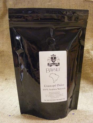 Mokasol BRASIL GUAXUPE DULCE  szemes kávé 250g
