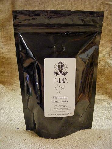 Mokasol INDIA Plantation szemes kávé 250g